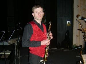 Libor Kazda - soprán sax., kytara, klávesy, zpěv 2003