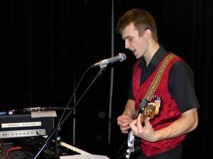 Žichlínek 23. 1. 2015 - David kytaristou a zpěvákem